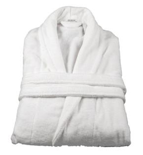 Comfy Adult Unisex Cotton Bath Robe 500gr/m2 Large - White