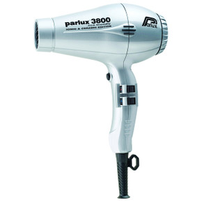 Parlux 385 Power Light Ceramic and Ionic Hair Dryer - Silver