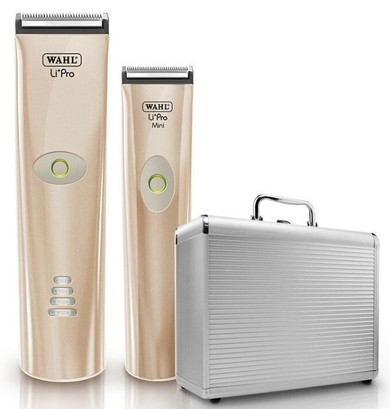 Wahl Cordless Li Pro Clipper & Li Pro Mini Trimmer with Case Limited Edition - Rose Gold