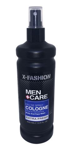 X- Fashion Men Care Eau De Spray Cologne Extra Fresh - 400ml
