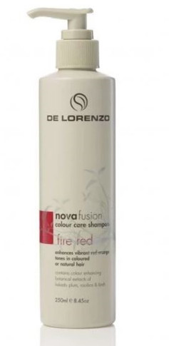 DeLorenzo Novafusion Fire Red Shampoo - 250ml