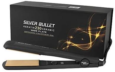 Silver Bullet Keratin Ceramic 230 Wide Plate Hair Straightener