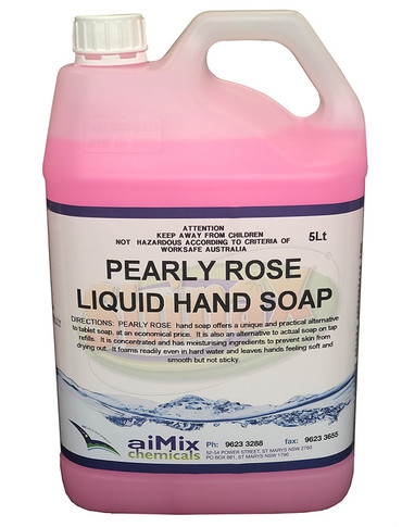 Pearly Rose Liquid Hand Soap 5 Litre