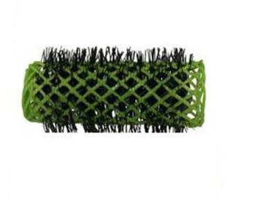 Swiss Brush Rollers Green 25mm  6pk