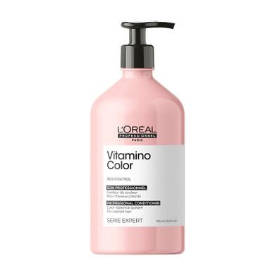 L'Oreal Serie Expert Resveratrol Vitamino Color Conditioner - 750ML