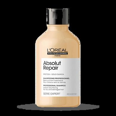 L'Oreal Professional Serie Expert Gold Quinoa Protein Absolut Repair Shampoo - 300ml