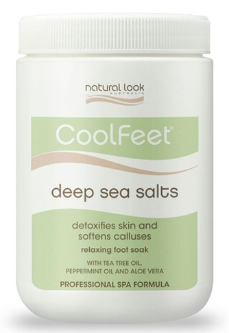 Natural Look Cool Feet Deep Sea Salts - 1.2kg