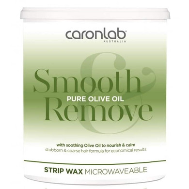 Caron Smooth & Remove Pure Olive Oil Strip Wax Microwaveable  800g