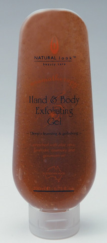 Natural Look Hand and Body Exfoliating Gel    200g