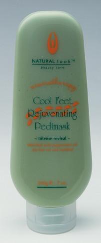 Natural Look Cool Feet Pedi Mask    600g
