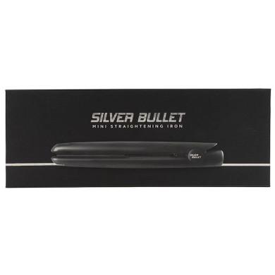 Silver Bullet Mini Straightening Iron - Black