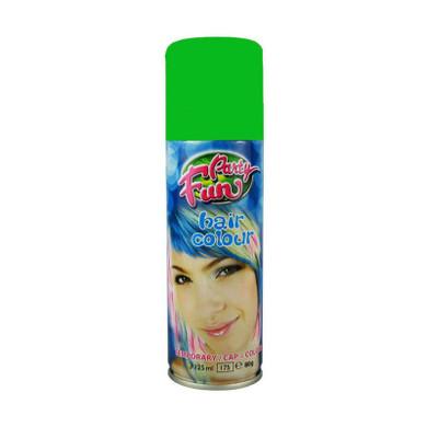 Party Fun Temporary Color Hair Spray Green - 125ml