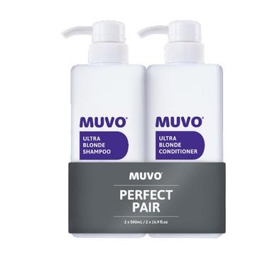 MUVO Professional Ultra Blonde Shampoo & Conditioner Duo - 500ml