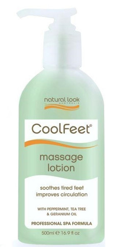 Natural Look Cool Feet Massage Lotion - 500ml