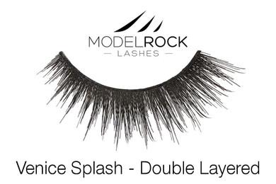 MODELROCK Lashes Venice Splash - Double Layered Lashes