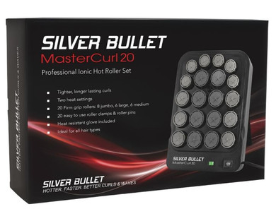 Silver Bullet Master Curl 20 Professional Ionic Hot Roller Set