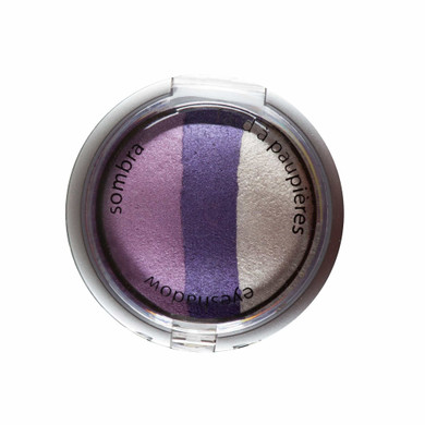 Palladio Baked Eye Shadow Trio - Lovely Lilac