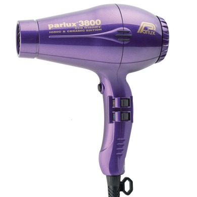 Parlux 3800 Eco Friendly Ionic & Ceramic Dryer – Purple