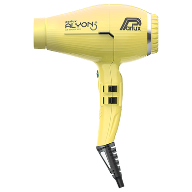 Parlux Alyon Air Ionizer Tech Hairdryer - Yellow