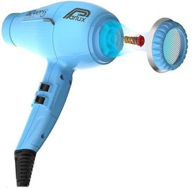 Parlux Alyon Air Ionizer Tech Hairdryer - Turquoise