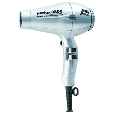 Parlux 3800 Eco Friendly Ionic & Ceramic Dryer – Silver