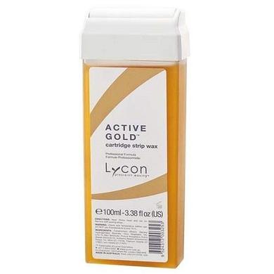 Lycon Active Gold Strip Wax Cartridge - 100ml