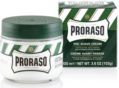Proraso Pre & After Shave Cream Eucalyptus & Menthol Oil - 100ml