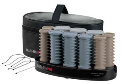 Babyliss Pro Ceramic Travel Setter Roller set - 10pc