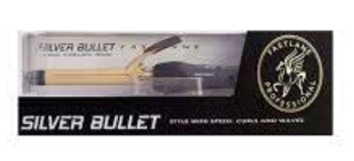 Silver Bullet Fastline Gold Cermic Curling Iron 38mm