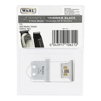 Wahl T-Shaped 2-Hole Trimmer Blade