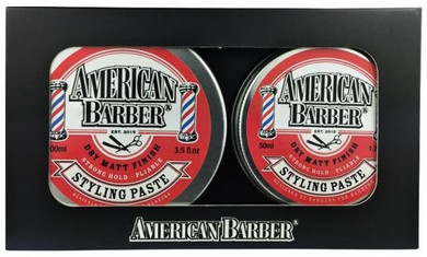 American Barber Styling Paste Duo Pack 50ml & 100ml