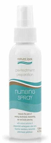 Natural Look  Numbing Spray  Pre-Treatment  - 125ml