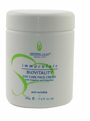 Immaculate BioVitality Day Care Anti-Wrinkle Cream   500ml