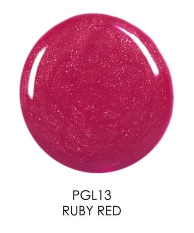 Palladio Herbal Lip Gloss - Ruby Red