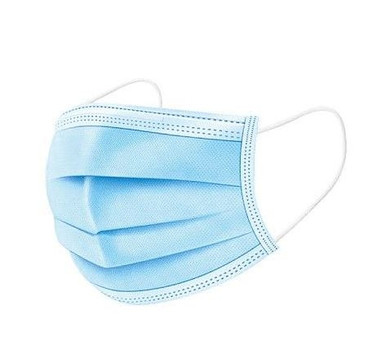 Disposable Face Mask 3 Layers Of Protection 6 Pack
