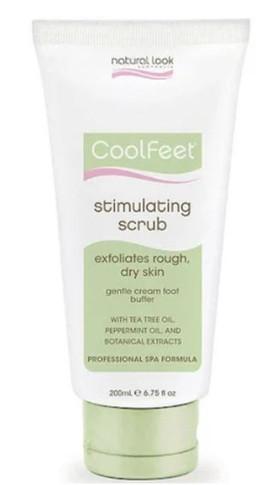 Natural Look Cool Feet Stimulating Scrub 200g