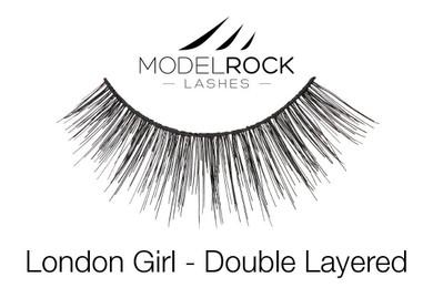 MODELROCK Lashes London Girl - Double Layered Lashes