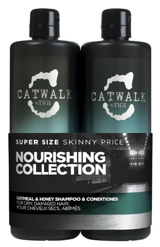 Catwalk By Tigi Oatmeal & Honey Nourishing DUO 750ml