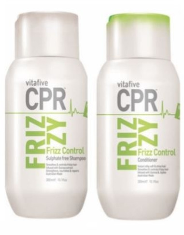 Vitafive CPR Frizzy Frizz Control Shampoo and Conditioner DUO 300ML