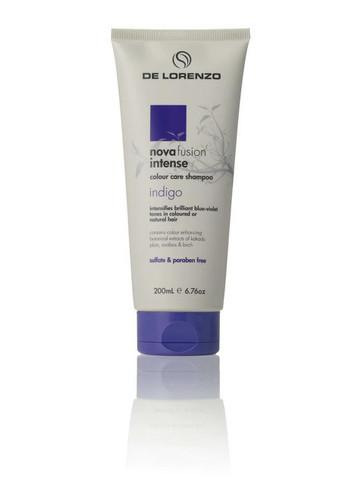De Lorenzo Novafusion Intense Indigo Shampoo - 200ml
