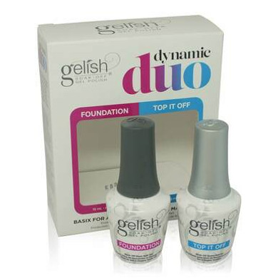 Gelish Dynamic Duo Foundation & Top It Off