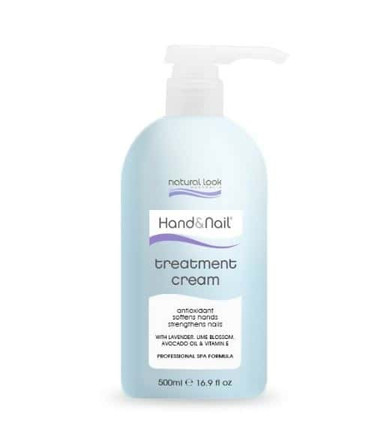 Natural Look Hand and Nail Treatment Cream - 500ml