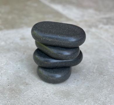 4 Pc X- LGE Ovular Massage Stones