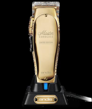 Andis Master Cordless Limited Edition Gold + Bonus Brosh Pomade
