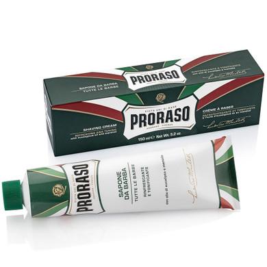 Proraso Eucalyptus and Menthol Shaving Cream Tube - 150ml