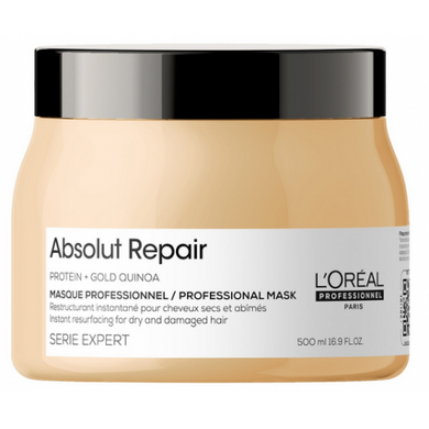 L'Oreal Professional Serie Expert Gold Quinoa Protein Absolut Repair Masque - 500ml