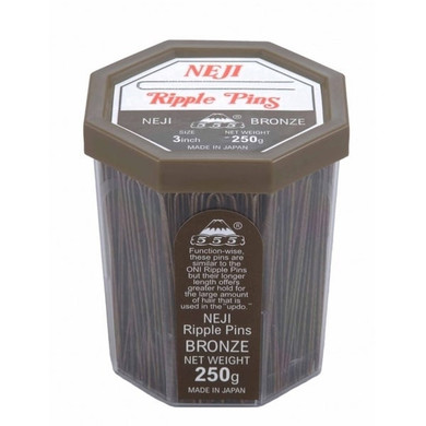 555 Ripple Pins 3' Bronze 250g Made In Japan