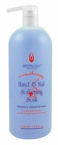 Natural Look Hand & Nail Softening Soak 1 Litre