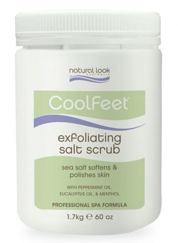 Natural Look Cool Feet Exfoliating Salt Scrub 1.7kg