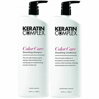 Keratin Complex Colour Care Shampoo & Conditioner Duo Pack - 1L